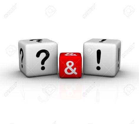8333534-domande-e-risposte-archivio-fotografico